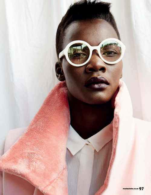 c8355f0511c Patricia Akello for Marie Claire South Africa June 2015 issue by ...