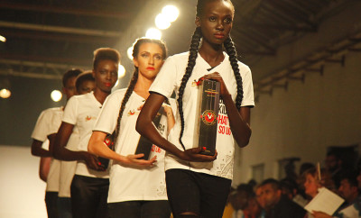 Uganda Waragi unveils new gift pack at Kampala Fashion Week 2015
