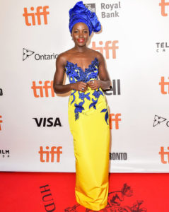 TORONTO, ON - SEPTEMBER 10: Actress Lupita Nyong'o attends the 'Queen of Katwe' premiere during the 2016 Toronto International Film Festival at the Roy Thomson Hall on September 10, 2016 in Toronto, Canada. (Photo by Dominik Magdziak Photography/Getty Images)