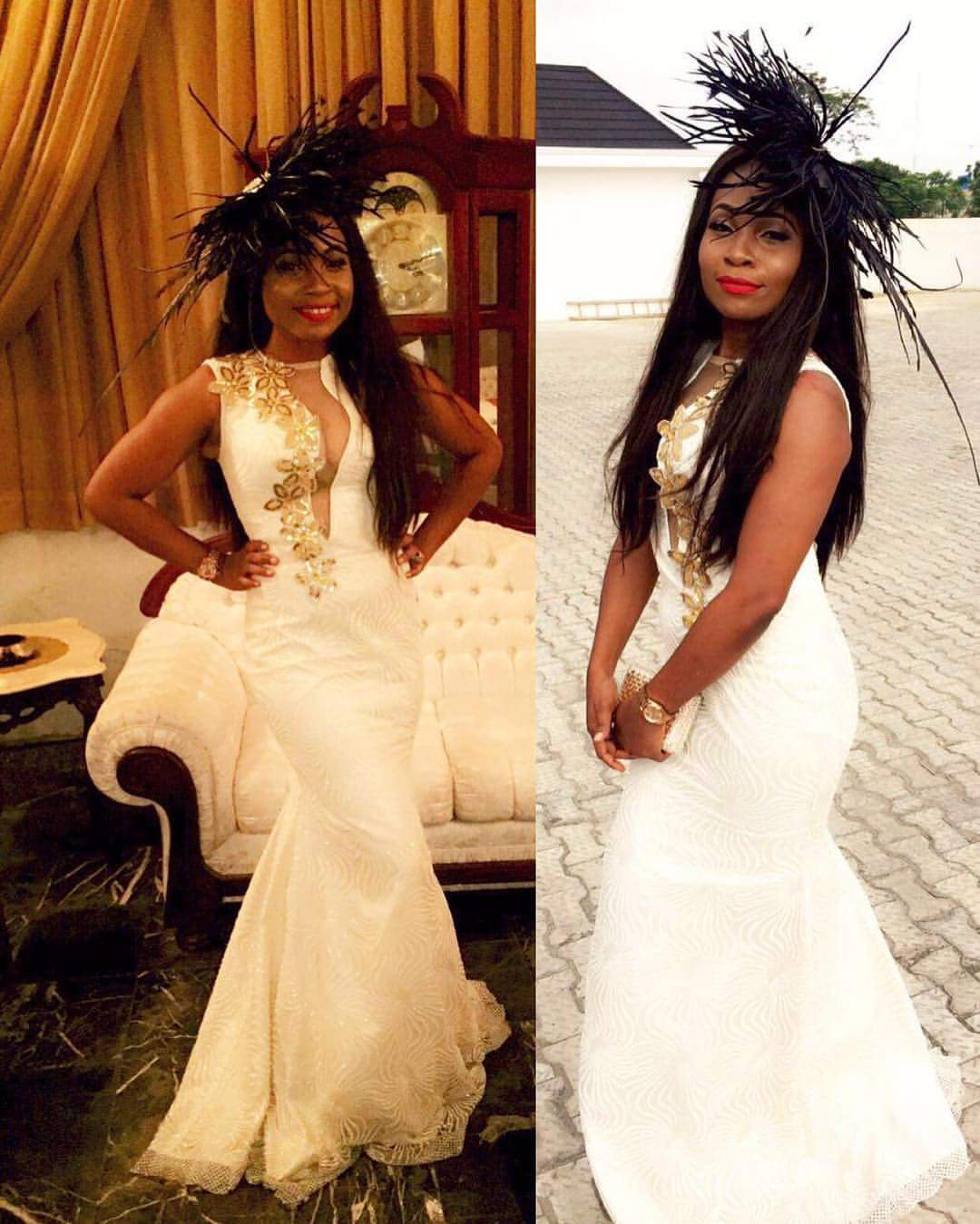 ... accessorise their hair with elaborate fascinators at weddings and other  social events. Here is some proof that African women too can wear a  fascinator 1010939913e