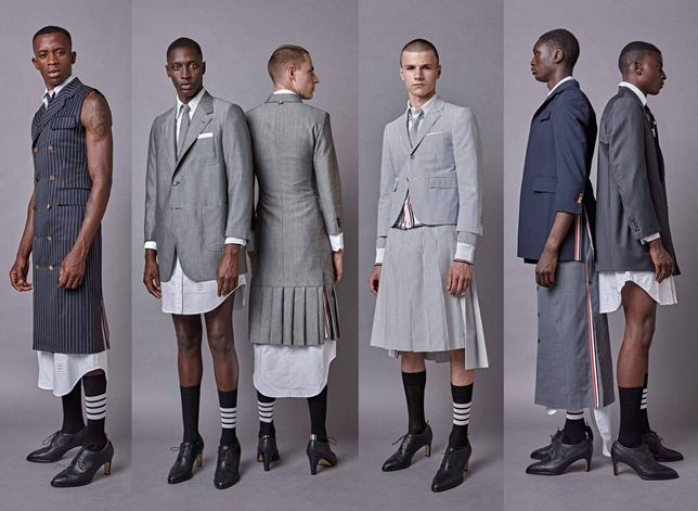 Trend Alert: Dress Shirts, Maxi dresses, Pleated Skirts and High Heels For Men